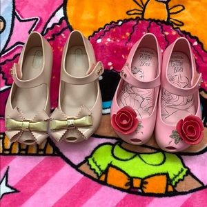 Mini Melissa shoes size 9